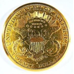 アメリカ20ドル金貨